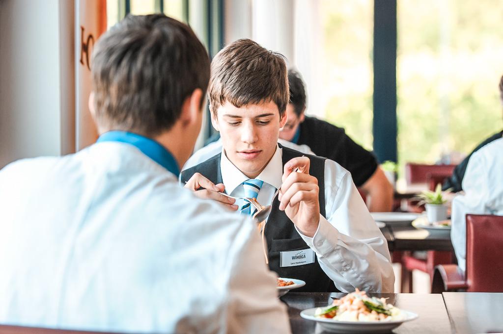 Fotoreportage WIHOGA ( Wirtschaftsschulen für Hotellerie und Gastronomie ) in Dortmund am 2. Mai 2011